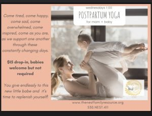 Postpartum Yoga with Your Baby!