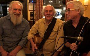 Paul Emery, Peter Wilson, and Eli Rush