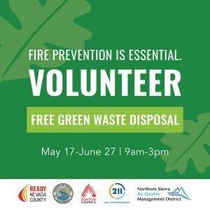 Volunteers Needed: Free Green Waste Disposal Events