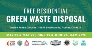 Free Green Waste & Wood Chip Pick Up Town of Truckee Area