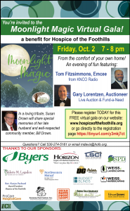 Hospice of the Foothills' MOONLIGHT MAGIC Virtual Gala
