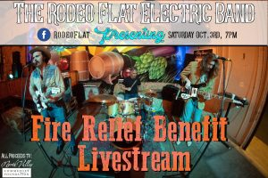 Rodeo Flat's Fire Relief Benefit Livestream