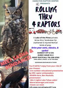 Rolling thru 4 Raptors