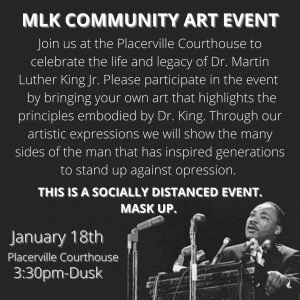 MLK Day event at the El Dorado Courthouse