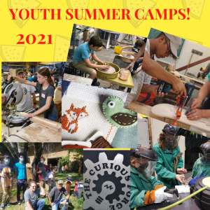 Curious Forge Youth Summer Day Camps