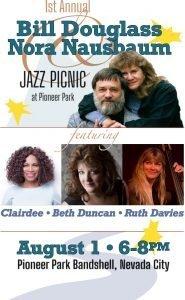 Sierra Jazz Society 1st Annual Picnic in Pioneer Park