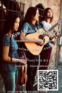 Kyle Ledson & Friends @ the Camptonville Community Center