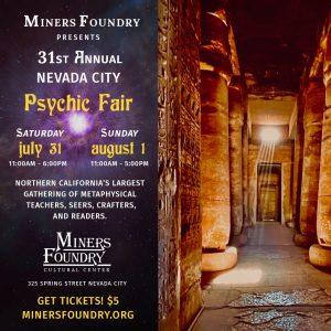 Nevada City Psychic Fair